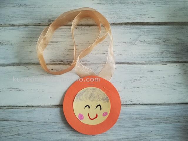 手作りメダルの作り方!プレゼント用に子供と工作してみた♪