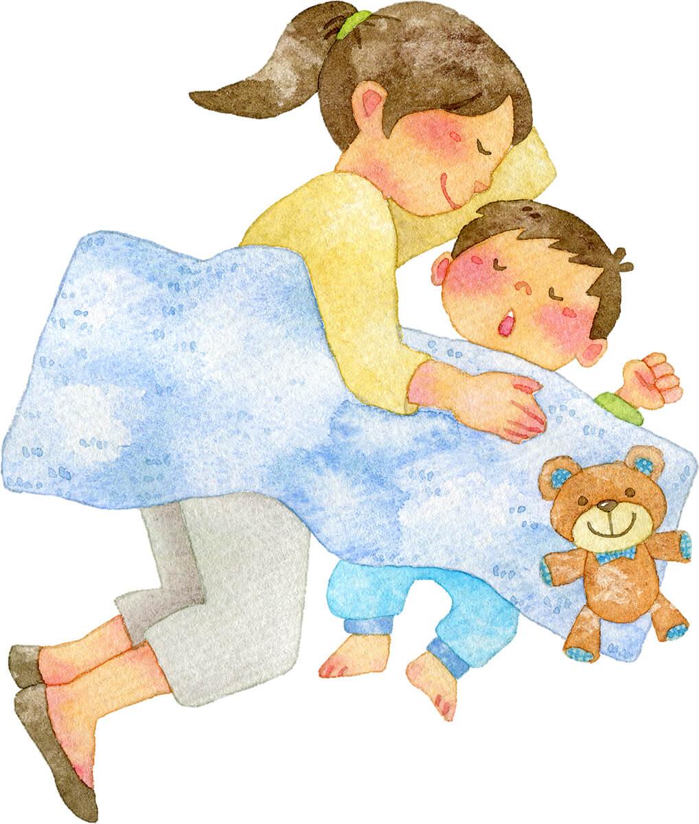 子供の寝かしつけ方法!ついイライラしてしまうあなたへ★