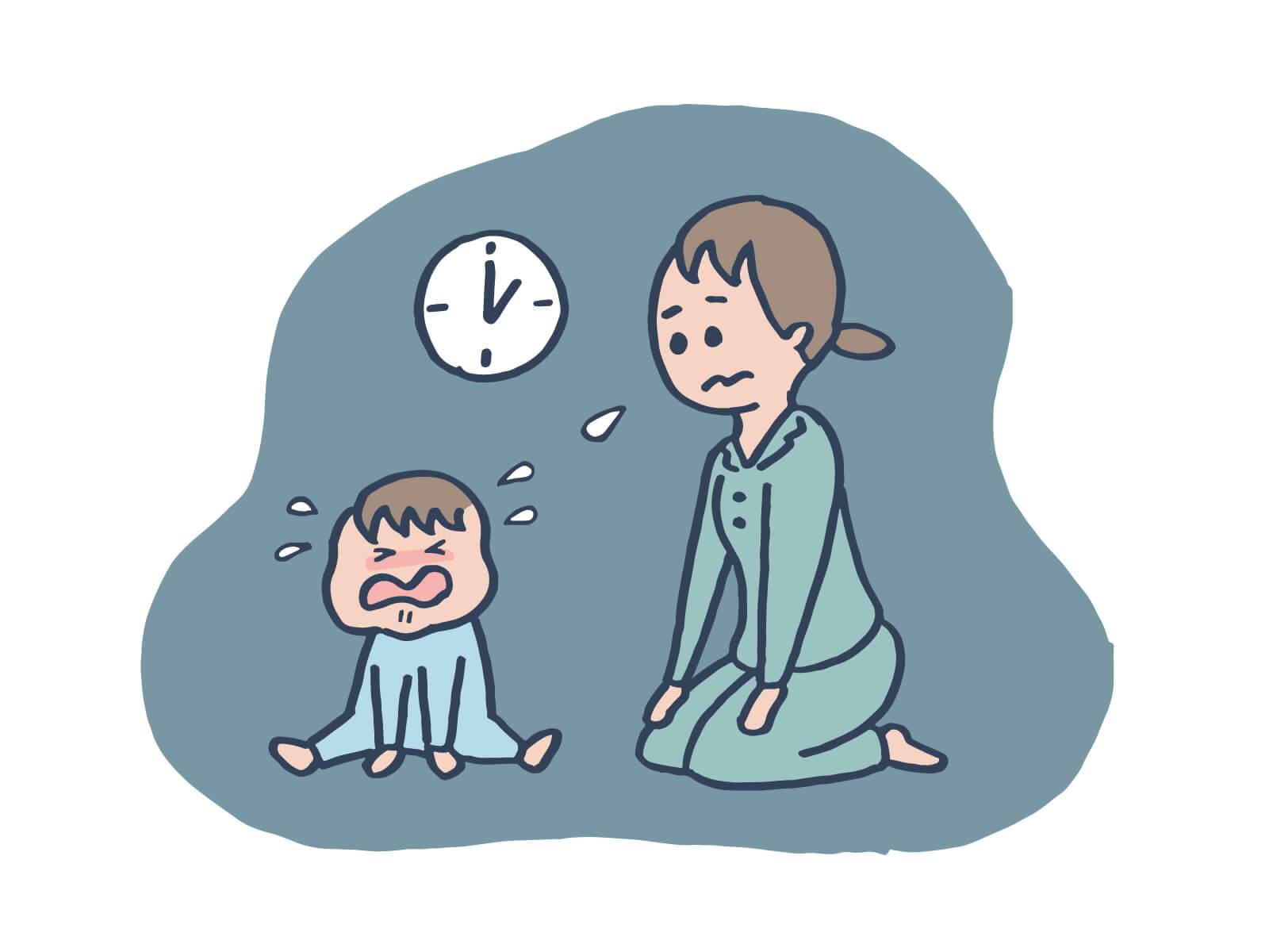 1歳の夜泣きの原因と対処法!私からあなたへのアドバイス