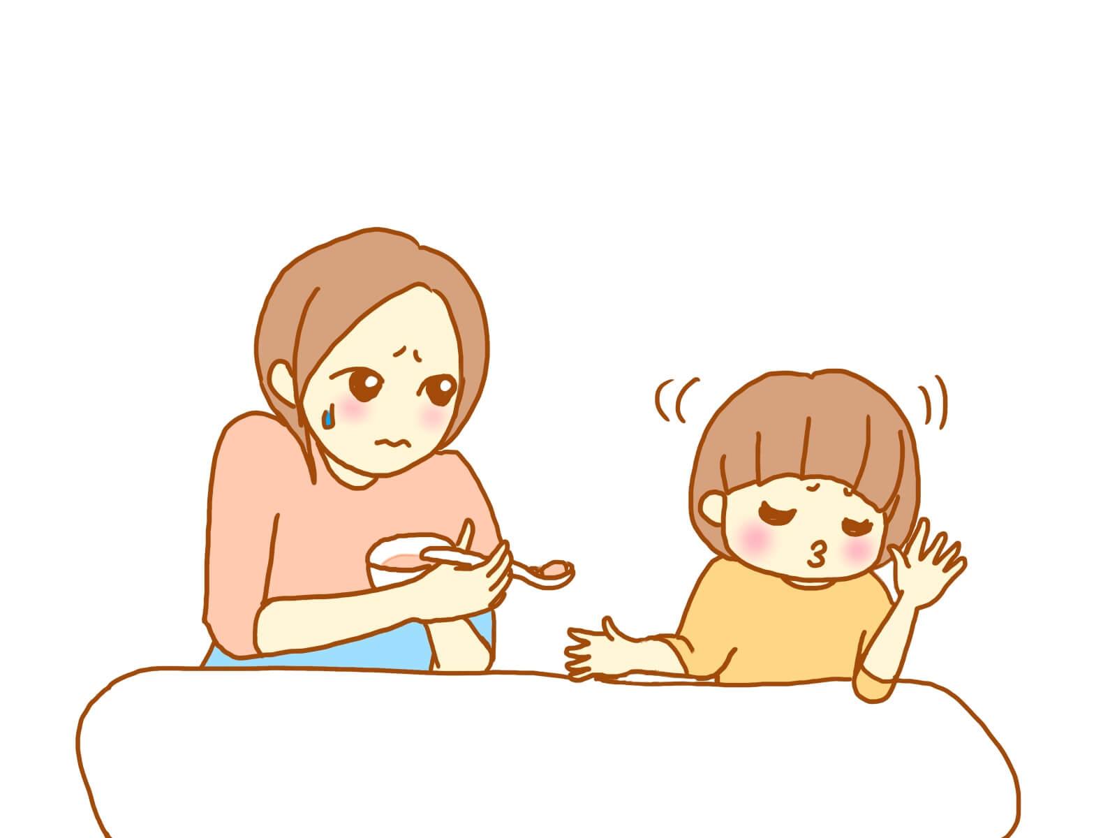 3歳児がご飯を食べてくれない!イライラしちゃうママへのアドバイス